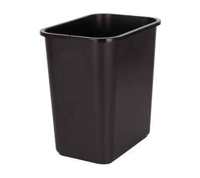 Standard Wastebaskets (Highmark TM Standard Wastebasket, 3 1/4 Gallons, Silver)