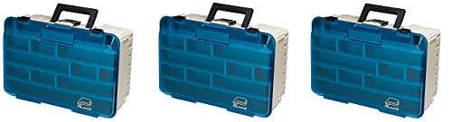 Plano Two Level Magnum 3500 Tackle Box, Premium Tackle Storage (3-(Pack))