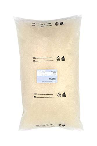 0a45bb93c Disidry Silicagel-Silica gel blanco a granel en bolsa en PEAD de 4 kg,