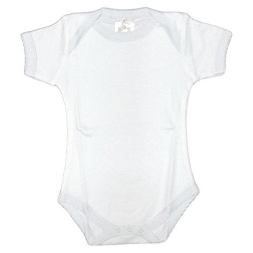 CARLINO 2-Pack Fancy Scallop Edged -Short Sleeve Bodysuits (Short Carlino)