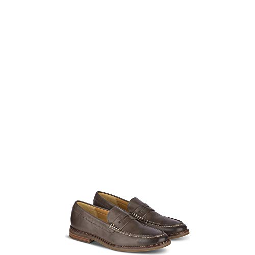 - Sperry Top-Sider Gold Cup Exeter Penny Loafer Men 8.5 Grey