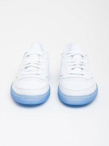 Reebok - Zapatillas de skateboarding para hombre WHITE GREY BLACK