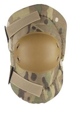 ALTA 53010.16 AltaFLEX Elbow Protector Pad, MultiCAM Cordura Nylon Fabric, AltaGrip Fastening, Flexible Cap, Round, Coyote