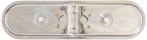 (Music City Metals 15102 Stainless Steel Burner Head Replacement for Select Charmglow and Sunbeam Gas Grill Models)