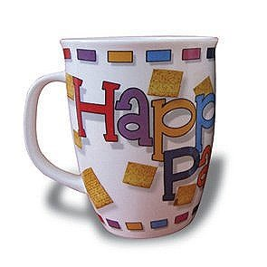 Passover Mug, Ideal Gift for Pesach, with Text Happy Passover
