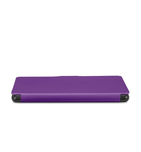NuPro SlimFit Cover for New Kindle (8th Generation), Purple - will not fit previous generation Kindle devices