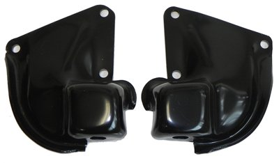 Engine Frame Brackets (1964-67 GM A-Body Chevelle V8 Big Block Engine To Frame Motor Mount Brackets Set)
