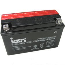 UPG UT7B-4 Adventure Power Power Sport AGM Series Sealed AGM Battery