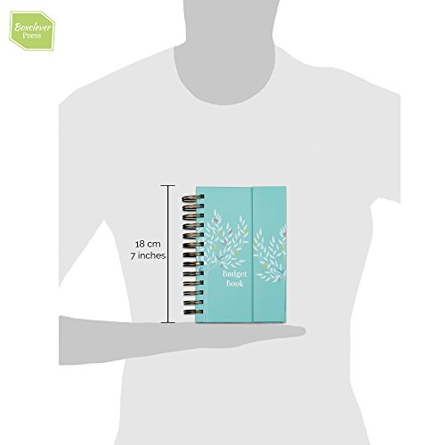 Boxclever Press Budget Book. Pretty Monthly Bill Organizer & Budget Planner. Accounts Book to Keep Track of Finances. Household Expenses & Finance Tracker with Pockets to Store Receipts & Bills by Boxclever Press (Image #5)