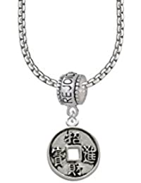 Chinese Coin Rejoice Bead Necklace
