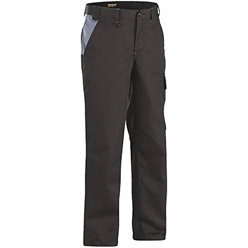 140412109994C150 Trousers''Industry'' Size 34/34 (Metric Size C150) IN Black/Grey