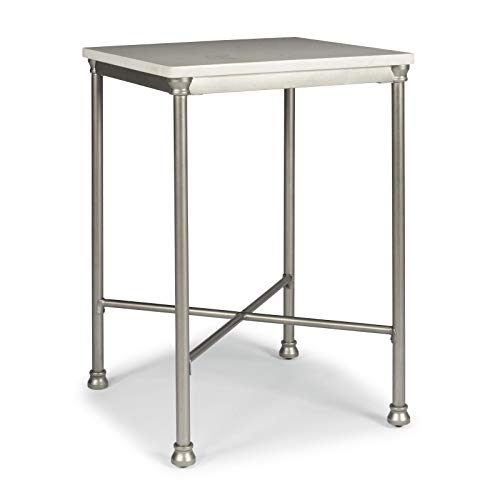 (Orleans Marble Finished Quartz Top Bar Table by Home Styles)
