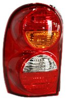 01 Tail Light Assembly - TYC 11-5886-01 Jeep Liberty Driver Side Replacement Tail Light Assembly