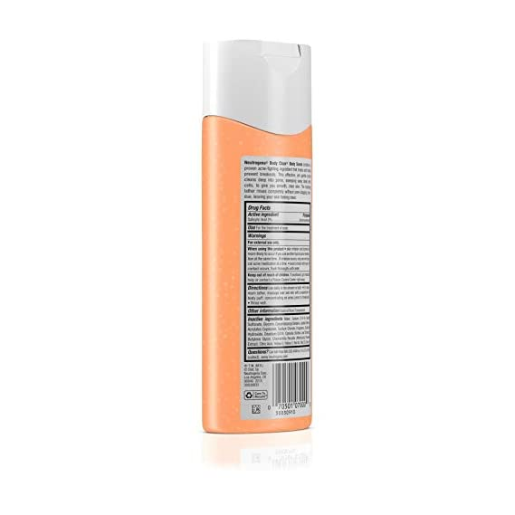 Neutrogena Body Clear Body Scrub for Smooth Clear Skin, 250ml