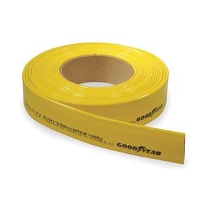 Goodyear Suction Hose (Continental ContiTech Yellow PVC/Nitrile Water Discharge Hose, 200psi Working Pressure, 300' Length, 2