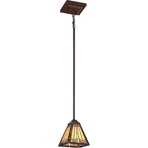 Quoizel Lighting TST2575C Illumina Direct Mini Pendant Illumina Direct Collection (Glass Chandelier Stained Quoizel)