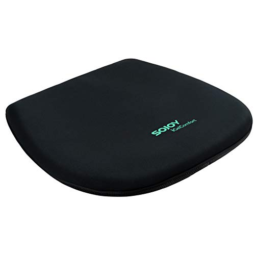 (Sojoy iGelComfort Coccyx Orthopedic Breathable All Gel Seat Cushion (Black Blue) )