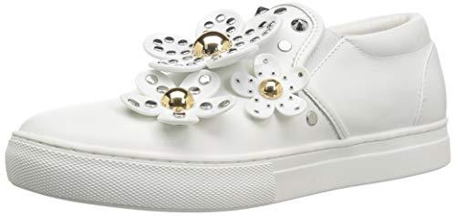 Daisy Studded Slip ON Sneaker, White, 36 M EU (6 US) ()