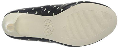 T.U.K. Vintage Coeur, Women's Heels Black (Noir)