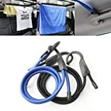 Automobile Baggage Shoulder Strap Bait - Elastic Bungee Shock Cord Strap Camping Stretch Plastic Hook Car Luggage Tent Kayak Rope Tie - Elevator Trounce Claw Motorcar Whip Lure - 1PCs