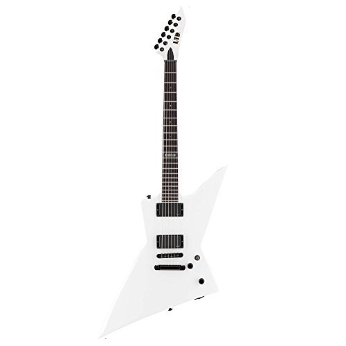 ESP LEX401SW Solid-Body Electric Guitar, Snow White