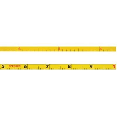 Spencer 100'L/120''-dia. Refill Tape for No. 121569 By Tabletop King by Tabletop King