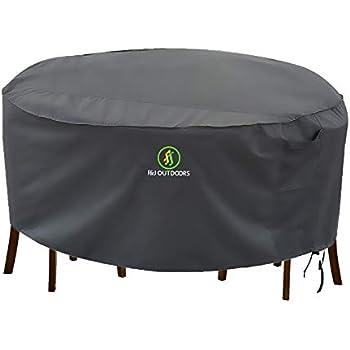 Amazon Com Protective Covers Weatherproof Patio Table And Highback