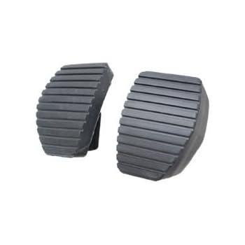 2 PCS clutch & Brake pedal rubber FOR Peugeot 207/307/308/407