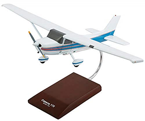 Mastercraft Collection Cessna Model 172 Skyhawk Single Engine Airplane Plane Model Scale:1/24