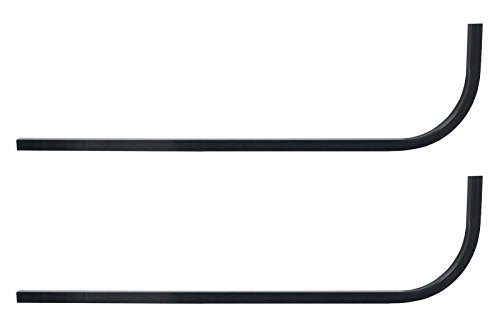 Huskey Golf Cart Univeral Rear Struts Supports Candy Cane for Extended Roof- Steel (Club Cane Golf)