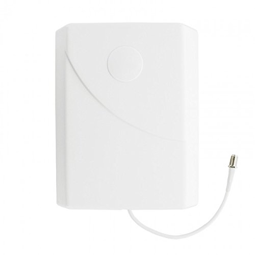 weBoost Wall Mount Panel Antenna with F-Female Connectors – 700-2700 MHz – Retail Packaging – White