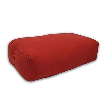 4a7c9e895b Amazon.com : YogaDirect Supportive Rectangular Cotton Yoga Bolster ...
