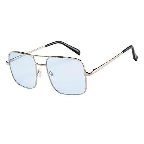 Stoota Women Men Vintage Retro Glasses,Unisex Fashion Oversize Frame Sunglasses Eyewear