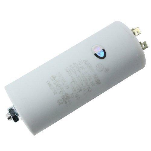 Condensateur First4spares Moteur Universel Microfarad 5UF à 80UF Connecteur Cosse / Etiquettes - 70 UF
