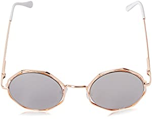 A.J. Morgan Clayton Round Sunglasses