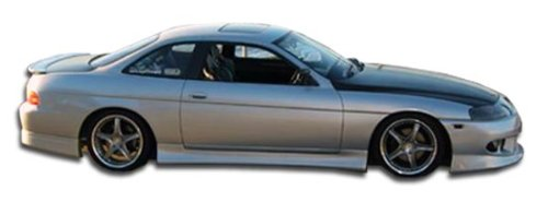 1992-2000 Lexus SC Series SC300 SC400 Duraflex V-Speed Side Skirts Rocker Panels - 2 Piece