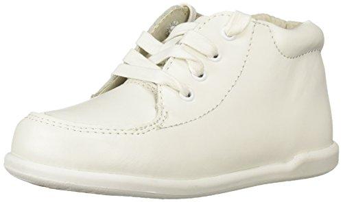 Josmo Boys' Daniel First Walker Shoe, White, 3.5 Medium US Infant
