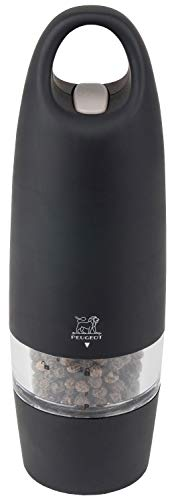 Peugeot 25922 Zest Electric Soft Touch 7 Inch Pepper Mill, Black