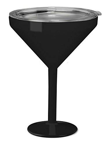 True North Insulated Martini Glass (Sport Black)]()
