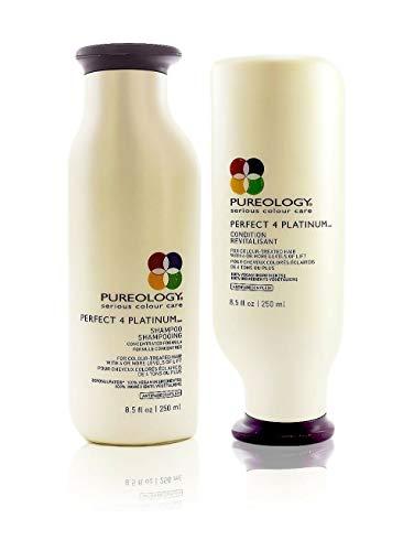 Purologgy Perfect 4 Platinum Shampoo and Conditioner 8.5 oz