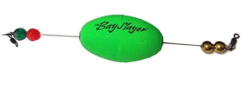 - Comal Bay Slayer Oval Popper Red Weighted 1pk