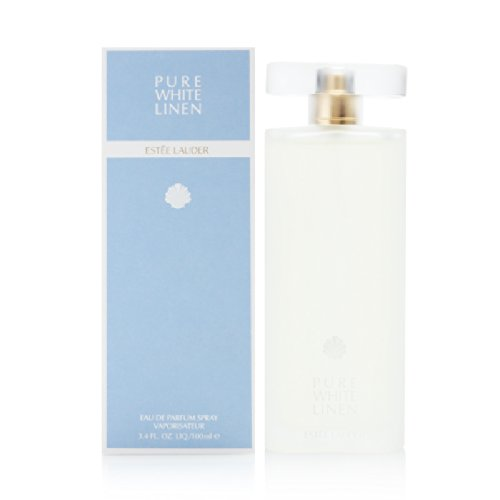 Body Cream White Linen - Pure White Linen By Estee Lauder For Women. Eau De Parfum Spray 3.4 OZ