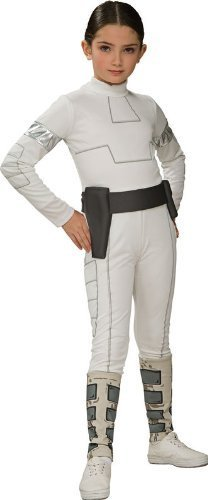Padme Costume Girls (Star Wars Child's Padme Amidala Costume, Small)