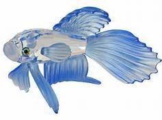 (Swarovski Crystal Siamese Fighting Fish (Blue) Item 236718)