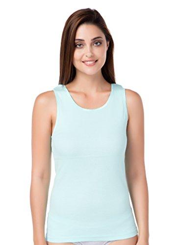 Achselshirt Mint Damenunterhemd Basic Übergröße Superqualität günstig stylenmore