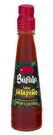 Bufalo Salsa Jalapeno Hot Sauce 5.3 oz