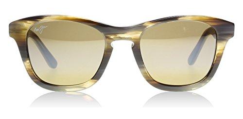 Maui Jim Unisex Ka'a Point Chocolate/HCL Bronze Sunglasses