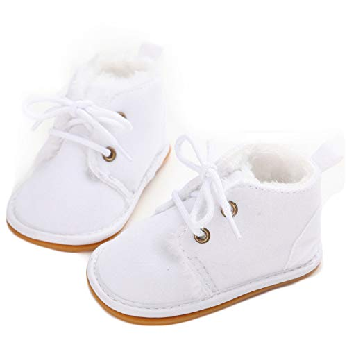 05f74a16782b Fnnetiana Multicolor Unisex Baby Warm Non-Slip Soft Sole Boots Infant  Prewalker Nursling Snow Shoes (6-12 Months