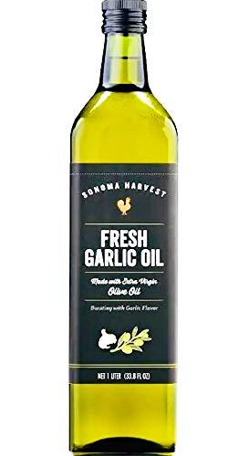 - Sonoma Harvest Fresh Garlic Olive Oil 1 liter
