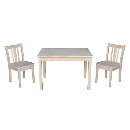 Overstock Kids Table with 2 San Remo Juvenile Chairs - 3 Piece Set ()